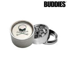 Buddies MT1 Skull Design Metal Grinder (3 levels)