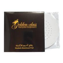 Golden Class Shisha Foil with Holes - Round Shape 100pc