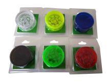 30mm Acrylic Grinders : 6 colors mixture a box of 12pcs