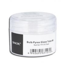 Bulb Pyrex Glass Tube #9: Glass Replacement for TFV16 Tank
