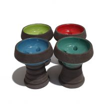 Large Black Clay Bowl
