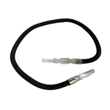 Small Black Hose Clear Plastic Handle